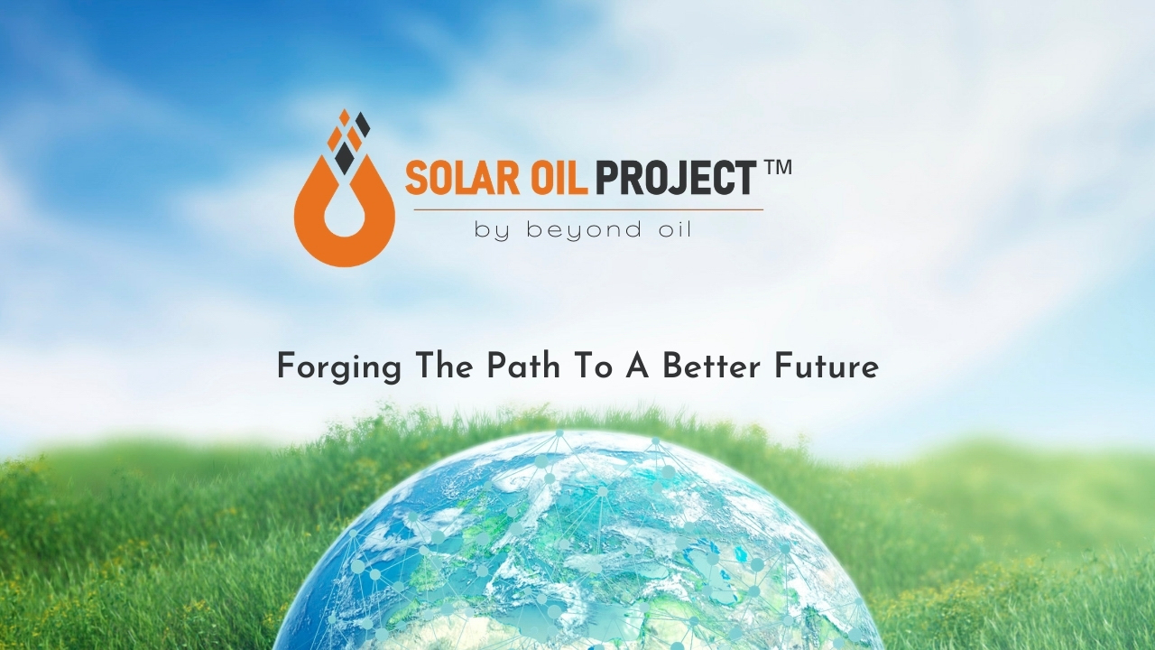 Beyond Oil™ Launches Smart Contract Driven Eco-Friendly Oil Production