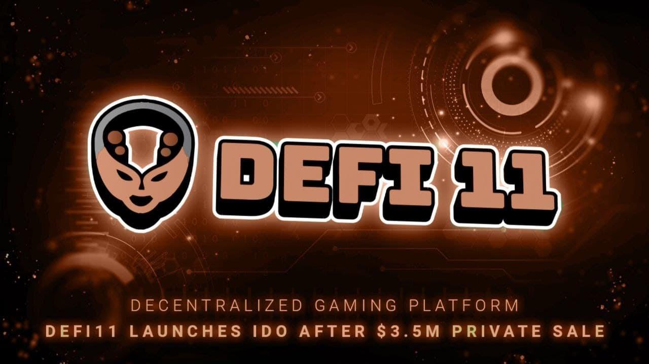 Decentralized Gaming Platform DeFi11 Eyes Expansion After $3