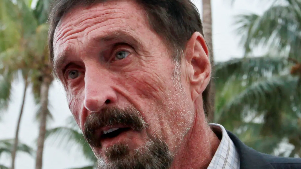 John McAfee Found Dead in Prison After Spanish Court Ruled in Favor of His Extradition to US