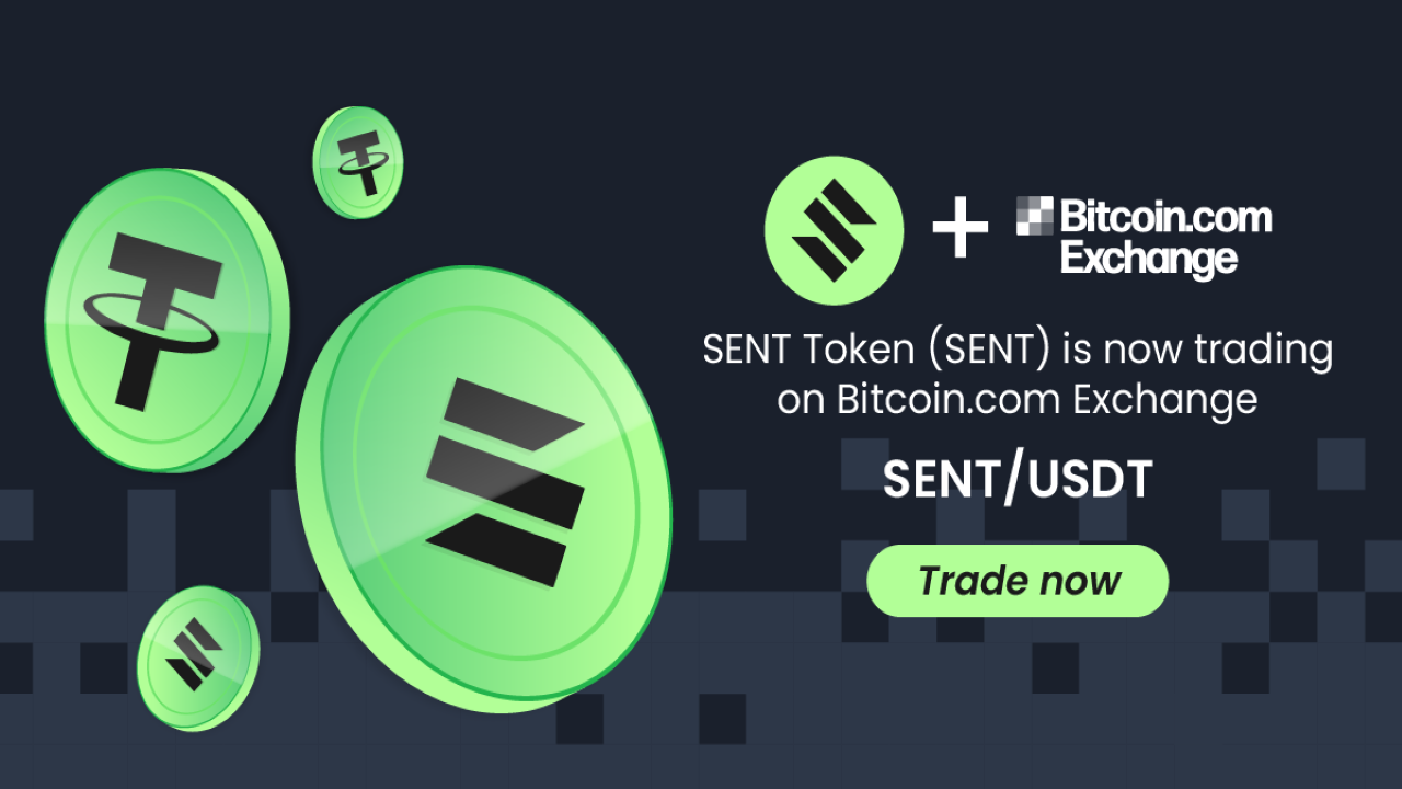 SENT Token Is Now Listed on Bitcoin