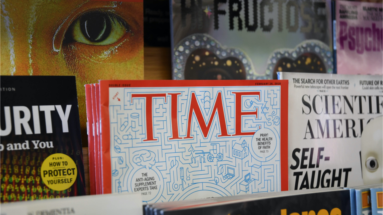 TIME Partners With Cool Cats NFT Project, Business Magazine Fortune's NFT Sale Raises $1