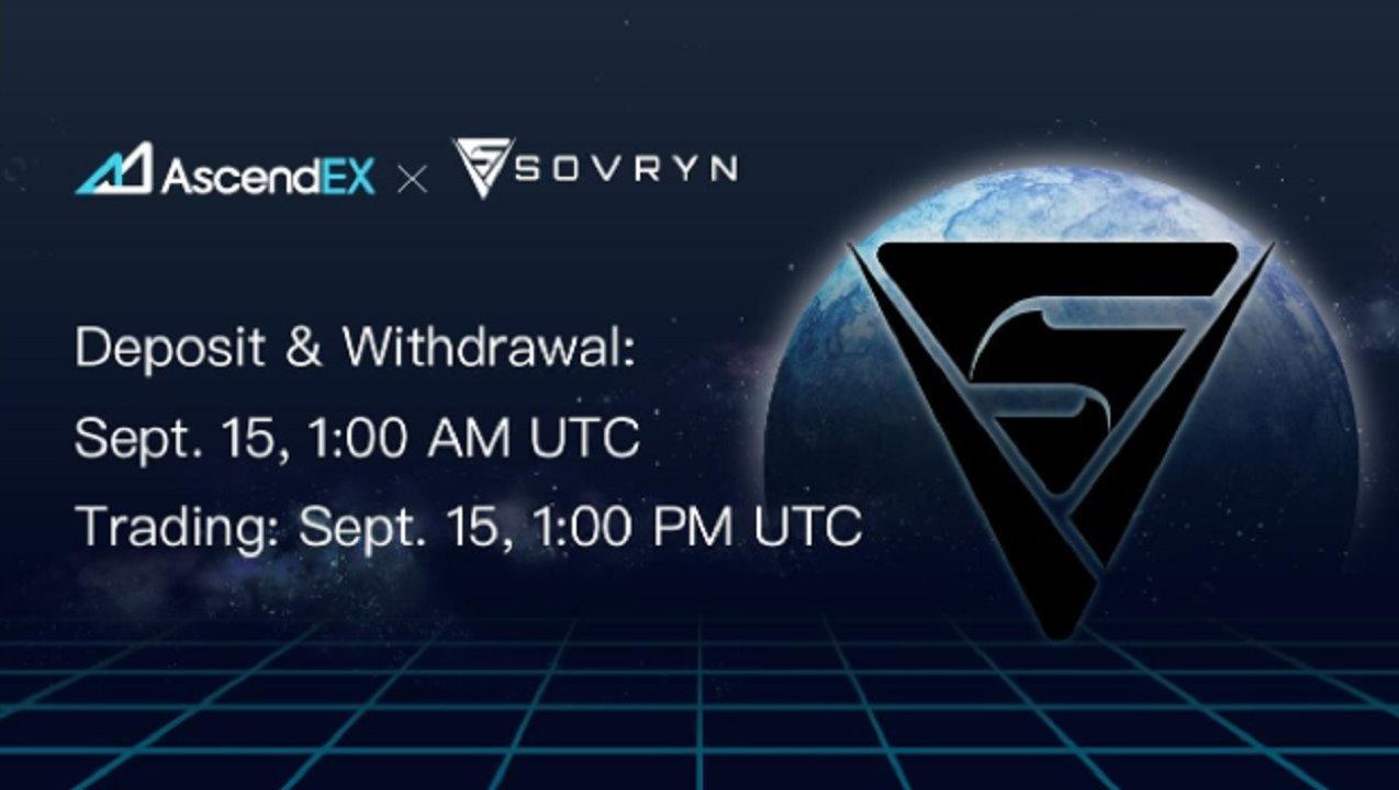 Sovryn Lists on AscendEX